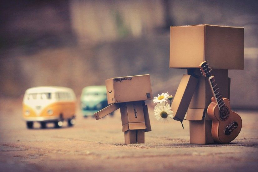 Danbo And Car HD wallpapers - Danbo And Car