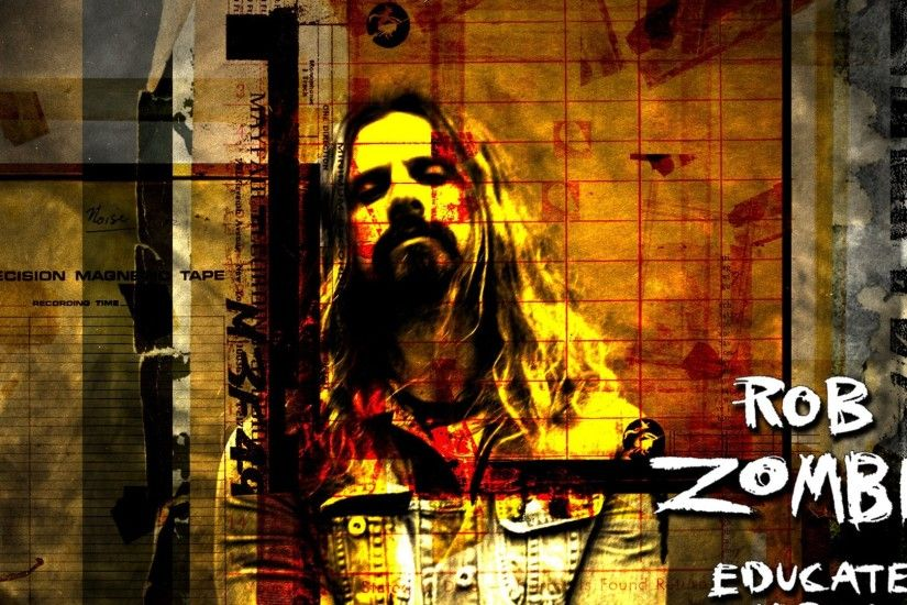 rob zombie, graphics, soloist