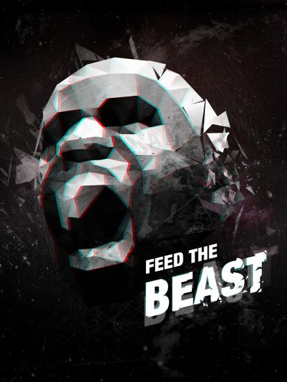 LeBron James 'Feed The Beast' Wallpaper