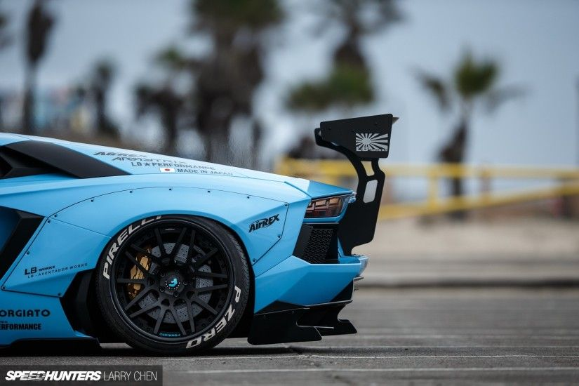car, Lamborghini, Lamborghini Aventador, LB Works, Liberty Walk, Blue Cars  Wallpapers HD / Desktop and Mobile Backgrounds