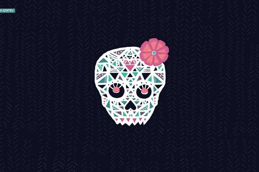 Sugar Skull Wallpaper For Android
