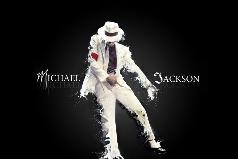 Preview wallpaper michael jackson, suit, dance, letters, spray 1920x1080