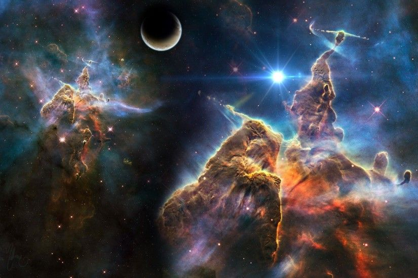 Trippy Space Wallpaper - Wallpapers Browse ...