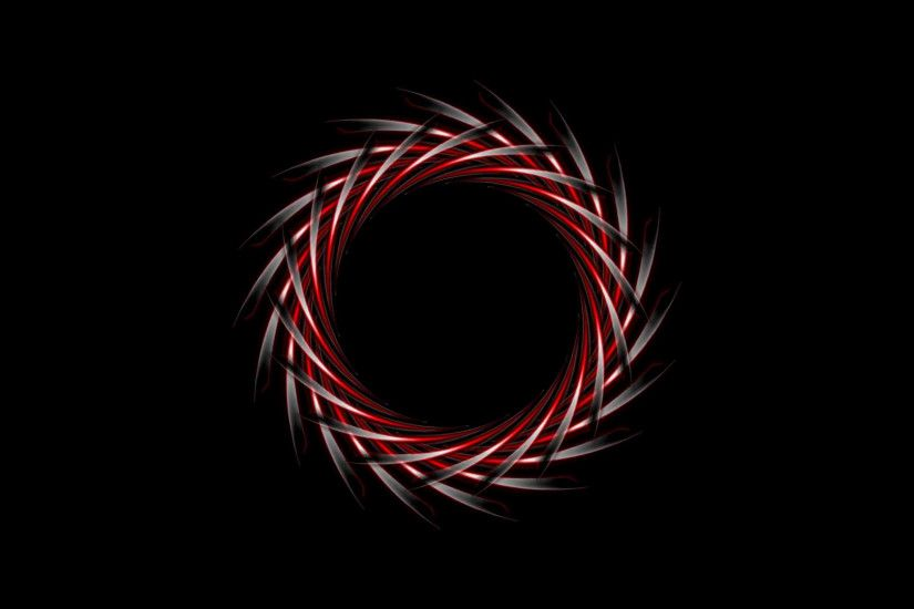Abstract dark red logo design on black background. Video animation HD  1920x1080 Motion Background - VideoBlocks