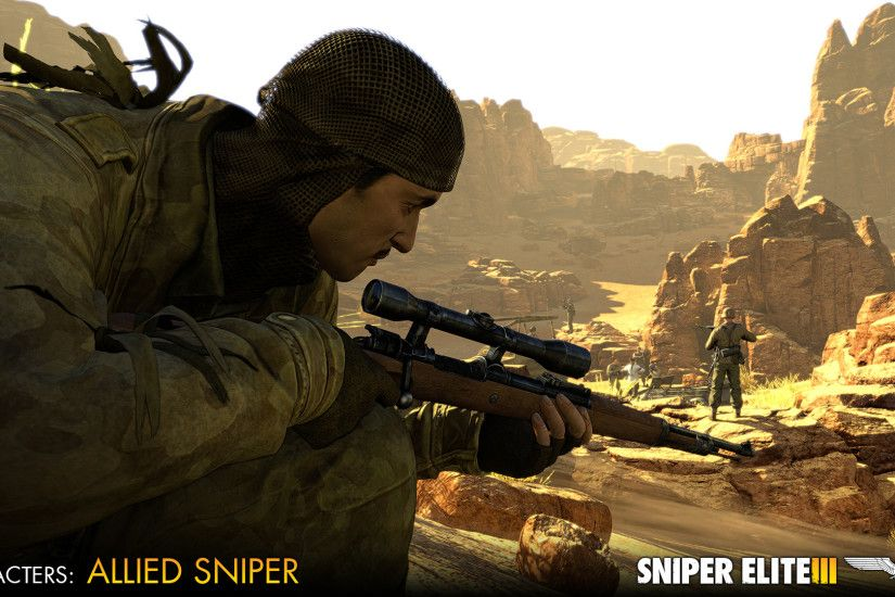 Best Game Sniper Elite Wallpaper Source · Sniper Elite 3 Allied  Reinforcements Outfit Pack Buy and