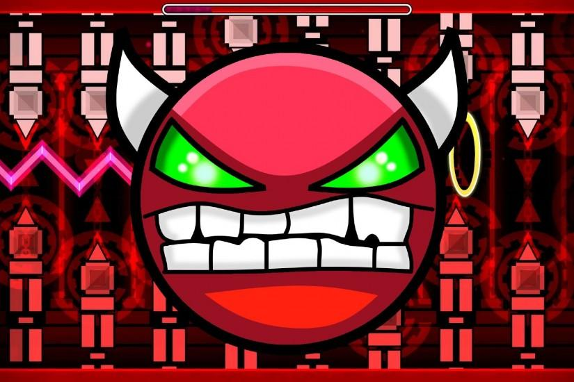 Geometry Dash - Impossible Demon - Rebellion - Practice and new record 21%  - YouTube