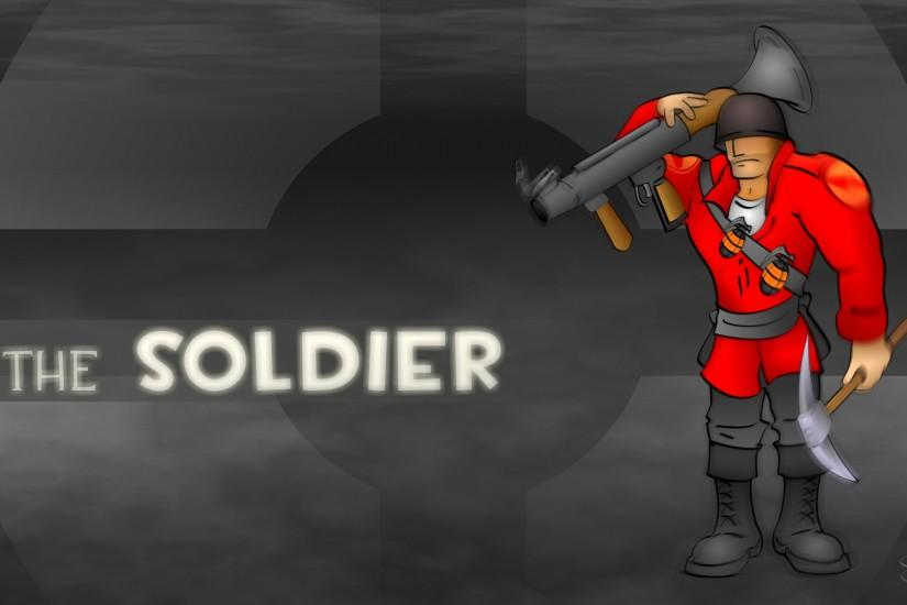 Wallpapers For > Soldier Wallpaper Tf2