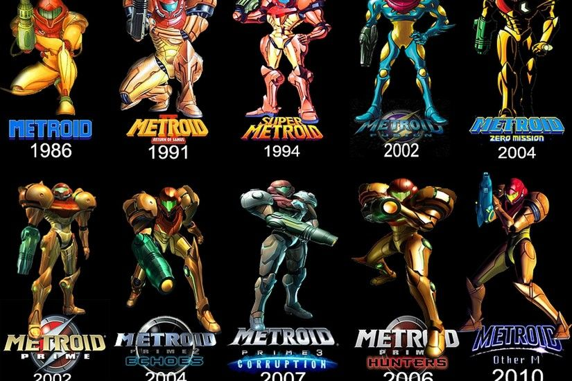 Hot Metroid Game HD Wallpapers.