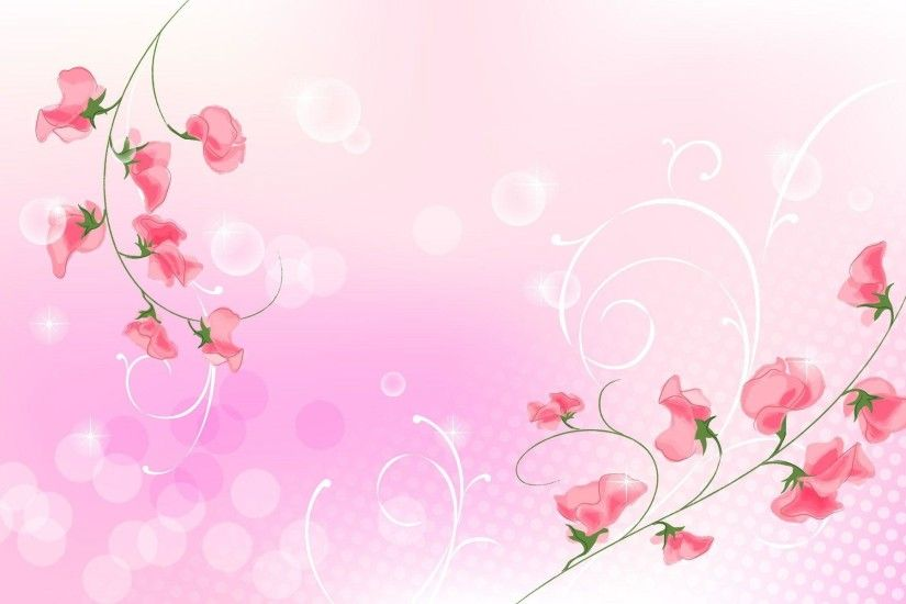 1920x1200 Wallpapers For > Light Pink Flower Wallpaper