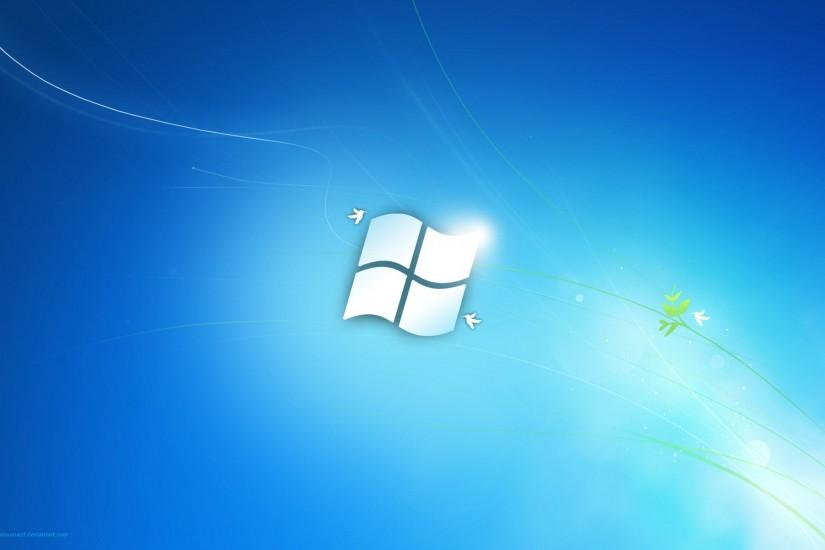 simple window 7 picture. blue window 7 wallpaper