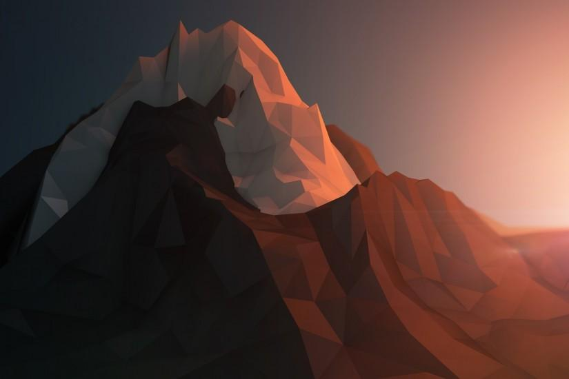 free polygon background 2560x1440