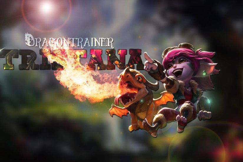 Dragon Trainer Tristana by Brumskyy HD Wallpaper Fan Art Artwork League of  Legends lol