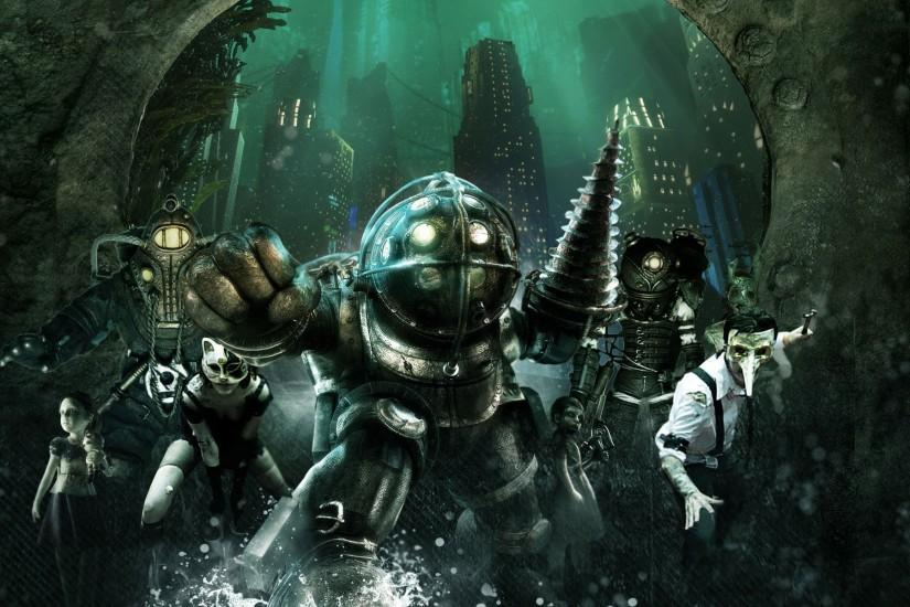 Bioshock 2 Desktop Background.