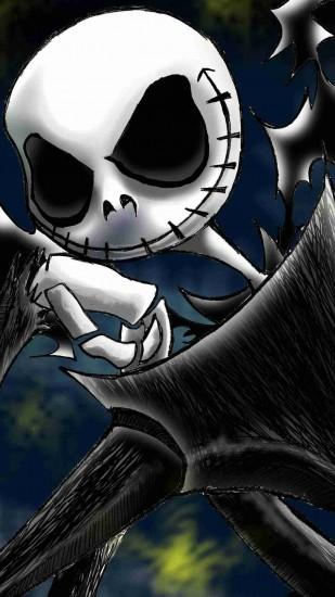 free download jack skellington wallpaper 1080x1920 for iphone 5