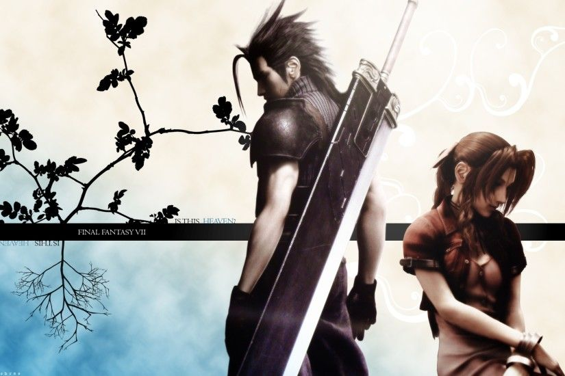 aerith and zack make a much cuter couple than aerith and cloud
