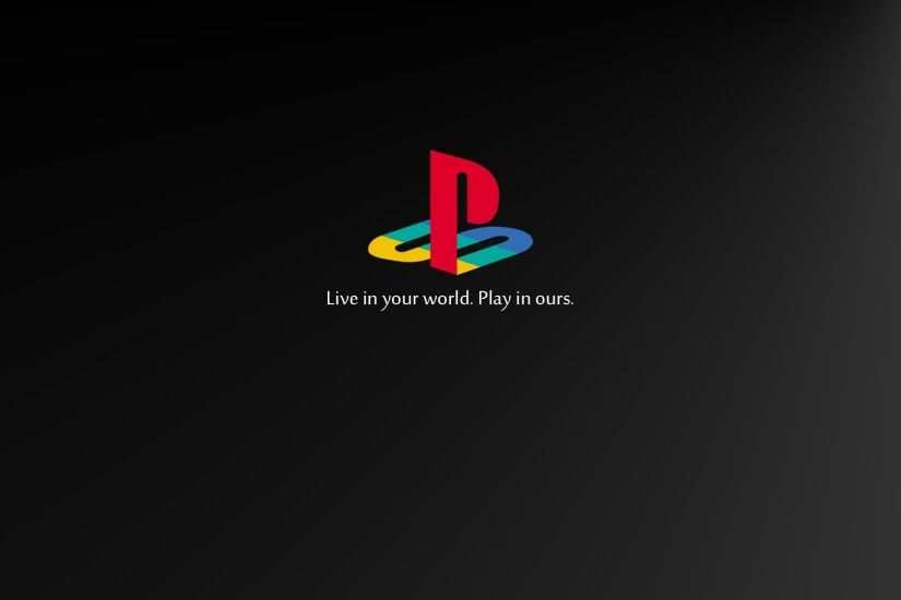 PlayStation, Retro Games, Video Games, Logo, Sony, Black, Consoles, Console Wallpapers  HD / Desktop and Mobile Backgrounds
