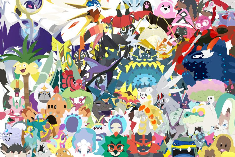 ... Pokemon Sun and Moon Wallpaper by PlanetNintendo