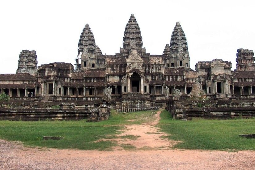 Angkor Wat Temple Kambodscha wallpapers and stock photos