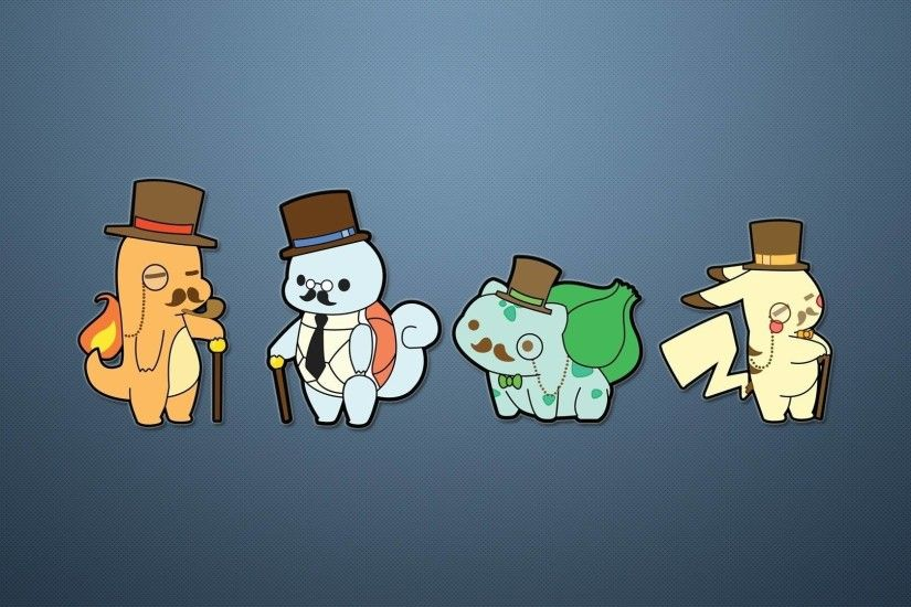 Pokémon Like A Sir Wallpaper, Funny Pokémon wallpaper!