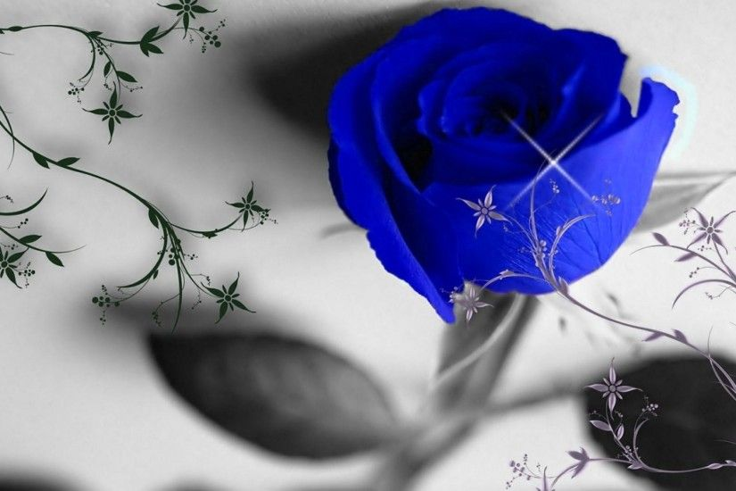Wallpaper's Collection: «Blue Roses Wallpapers» Floral Wallpapers Free  Download Group (69 ) | Flower Ideas ...