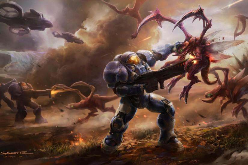 download free starcraft wallpaper 2144x1206 for phone