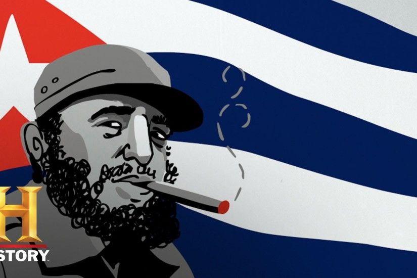 Drawn History: The Many Attempted Assassinations of Fidel Castro | History  - YouTube