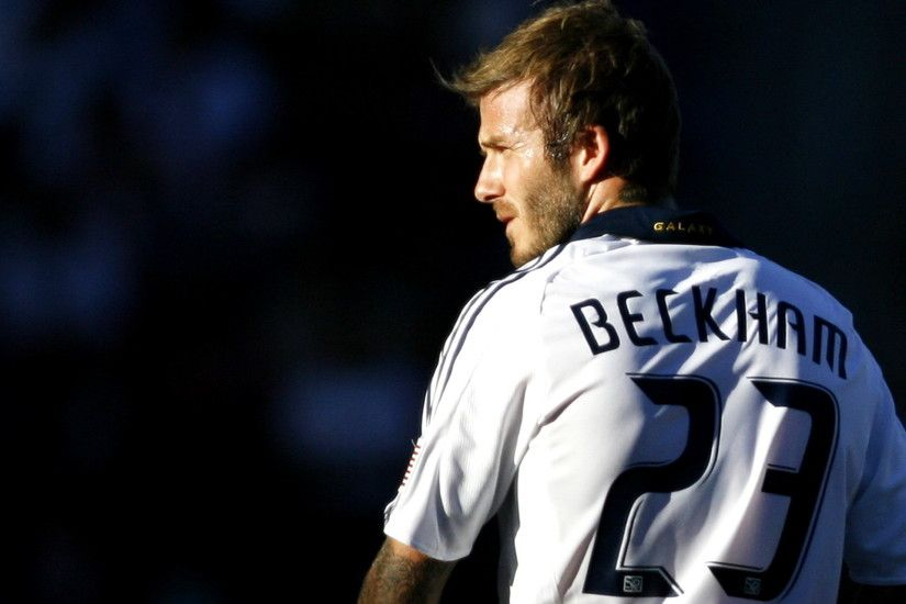 Free David Beckam On LA Galaxy Wallpaper Desktop