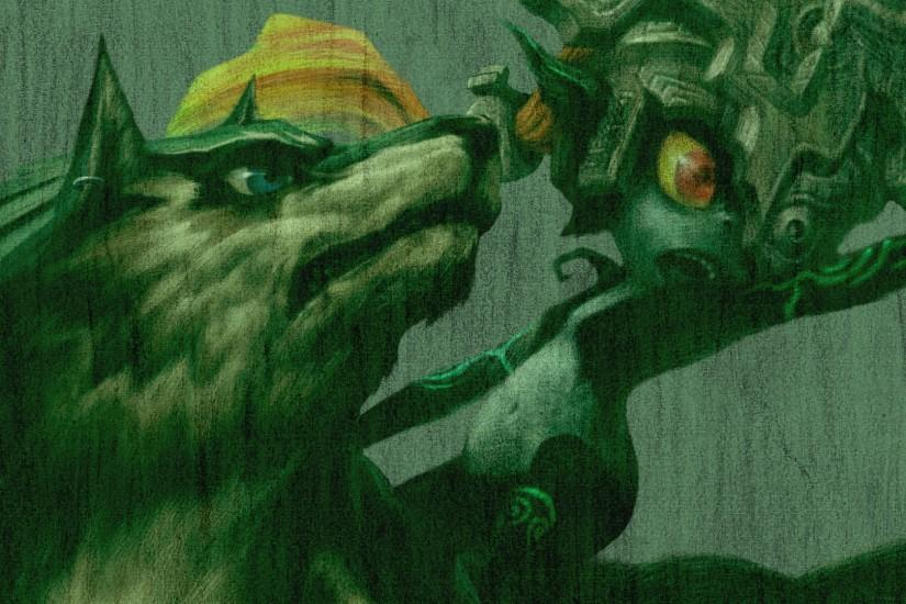 ... Twilight Princess 10th - Wolf Link and Midna by ConnorRentz
