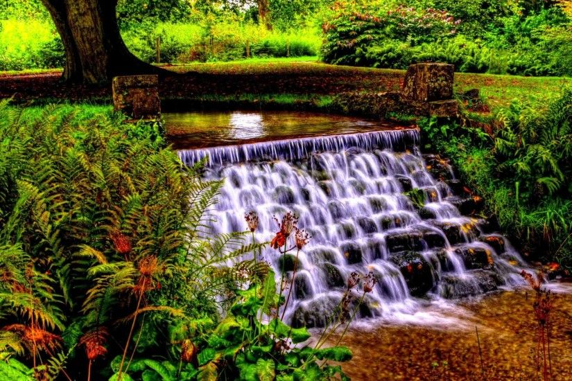 Waterfalls Landscape River Nature Waterfall HD Wallpaper Gallery