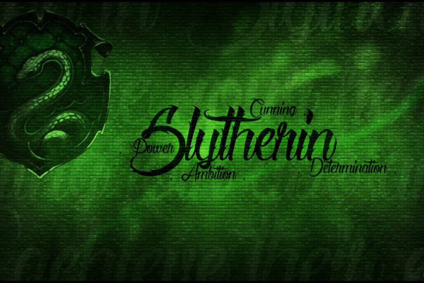 Slytherin Pride Wallpaper by Baronflame Slytherin Pride Wallpaper by  Baronflame