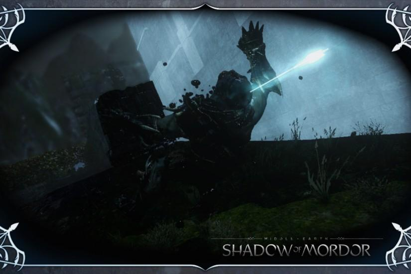 ... Shadow of Mordor Wallpaper 06: Headshot by Devastator1775