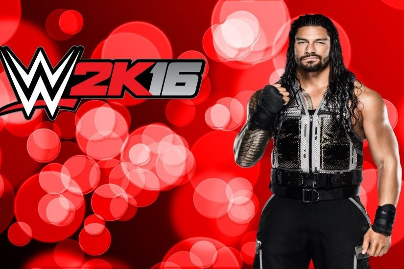 W2K16 Roman Reigns for 2560 x 1600 widescreen resolution