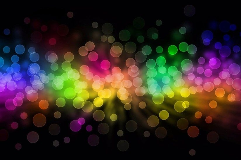 abstract background following small many lights bright black purple pink  red green