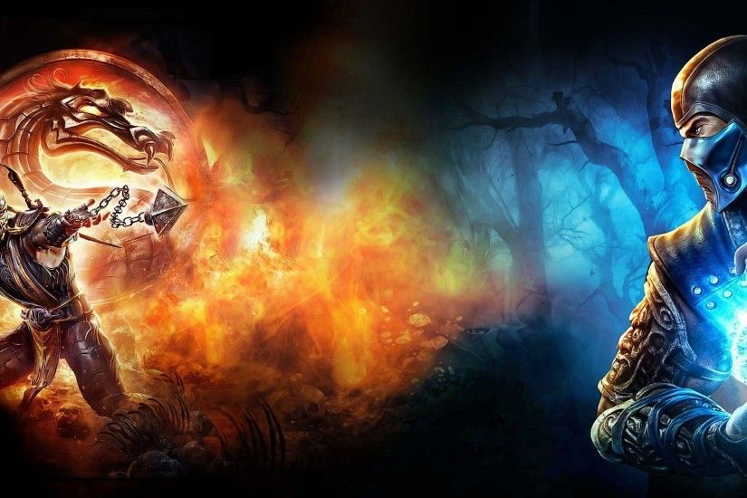 Animals For > Mortal Kombat 9 Scorpion Wallpaper