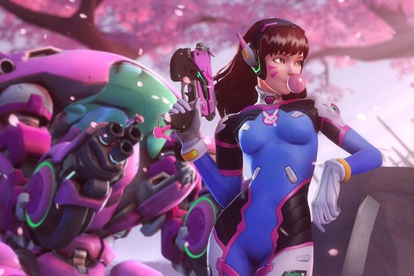 224 D.va (Overwatch) Hd Wallpapers | Backgrounds - Wallpaper Abyss with  Overwatch