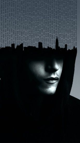 Preview wallpaper mr robot, 2015, rami malek, numbers 1440x2560