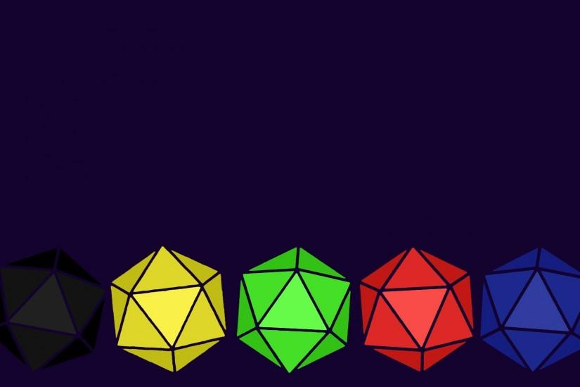 D20 minimalist wallpaper 1080x1920