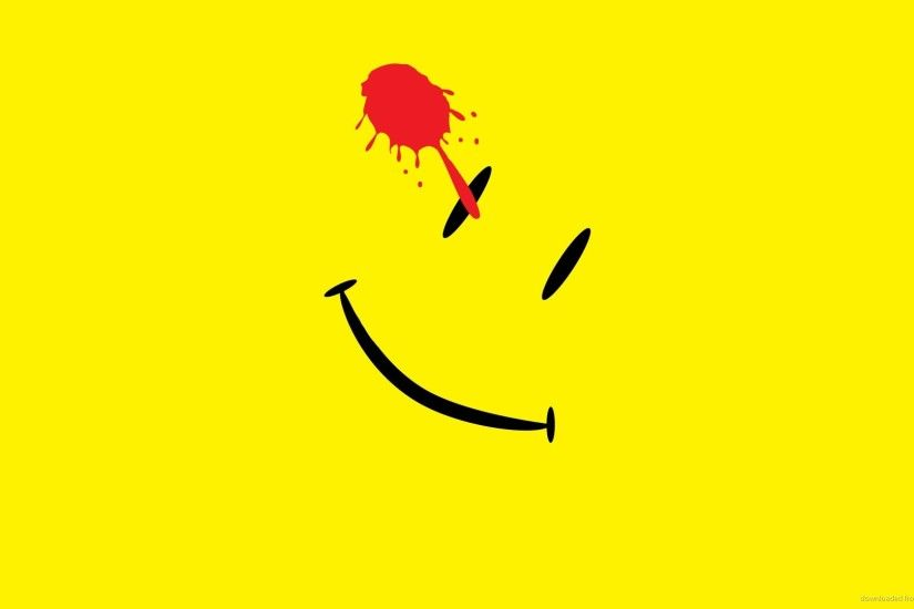Minimal Watchmen Smiley picture