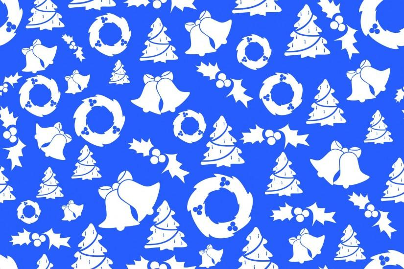 ... White Cloud And Blue Sky Blue Christmas Background