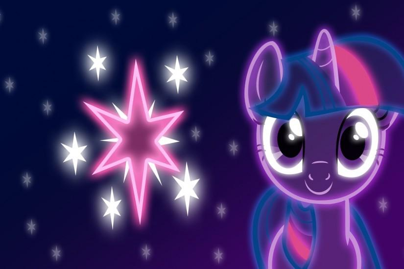 Neon Twilight Sparkle Wallpaper by ZantyARZ on DeviantArt