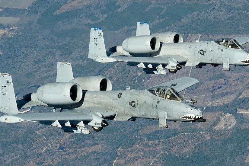 81 Fairchild Republic A-10 Thunderbolt II HD Wallpapers .