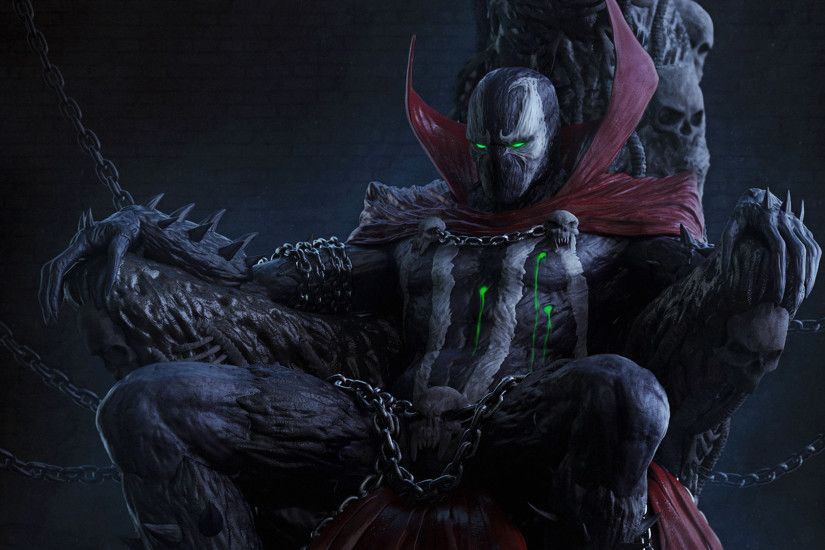 Spawn The King Desktop Background. Download 2000x1124 ...