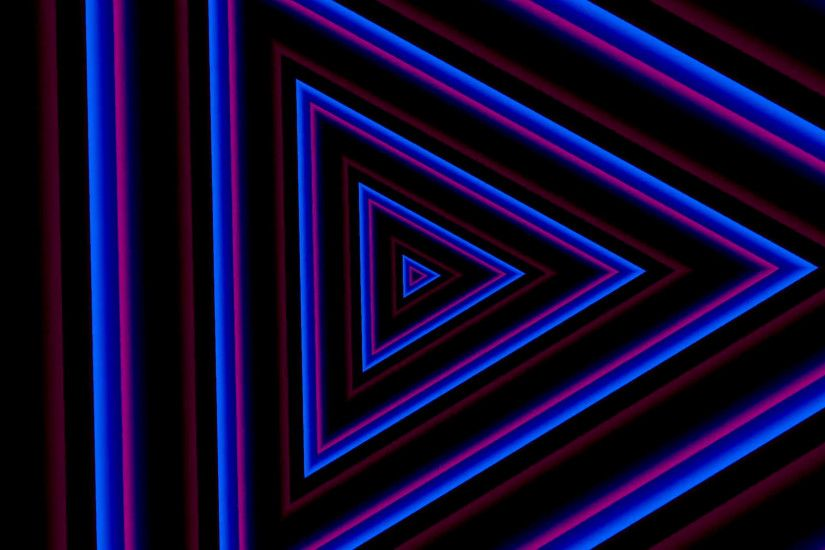 Neon lights vintage tunnel animation background loop - 1080p Motion  Background - VideoBlocks