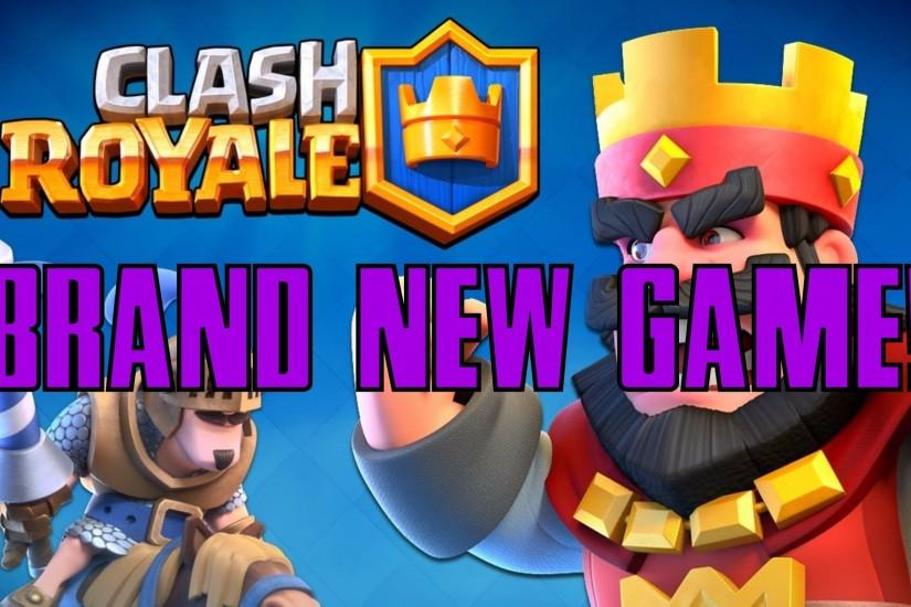 CLASH ROYALE! | BRAND NEW GAME BY SUPERCELL! | EPIC TRAILER!
