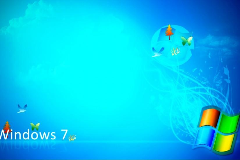 Animated Windows 7 HD Wallpaper.