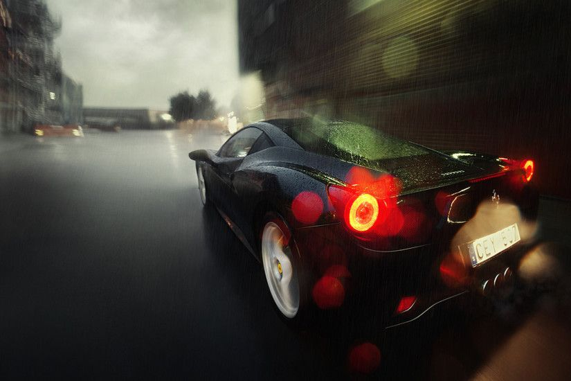 Black Ferrari Wallpapers Black Ferrari 1920 × 1080 Wallpapers