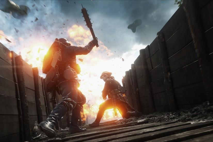 The Weapons of Battlefield 1: Fast, Varied, Efficient