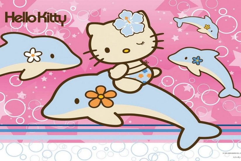 Hello Kitty Pink Cute wallpaper