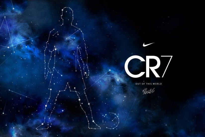 Cr7 Galaxy Background