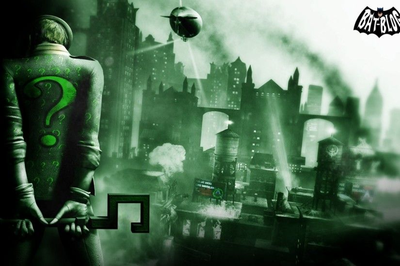Batman Arkham City Riddler 392922